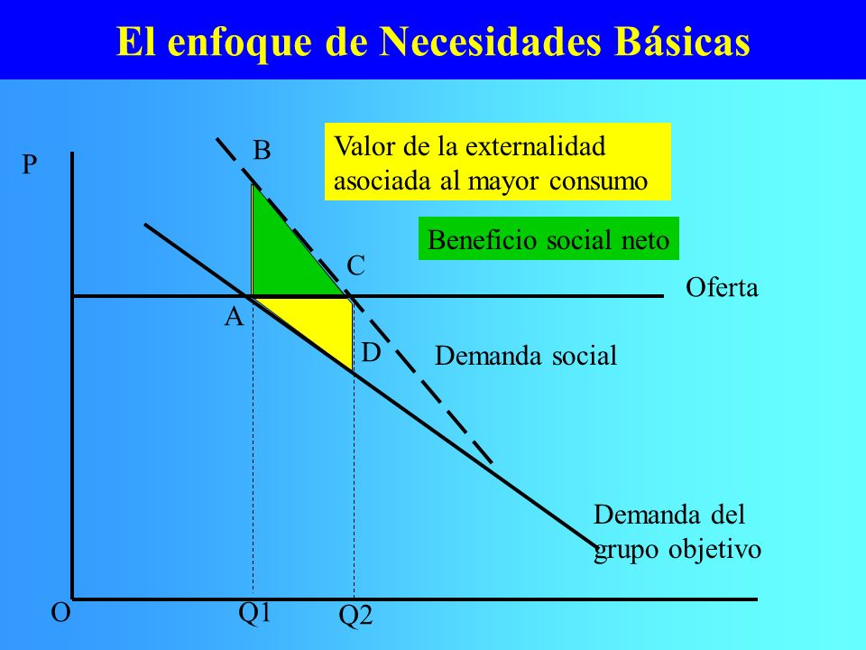 El enfoque de Necesidades Básicas