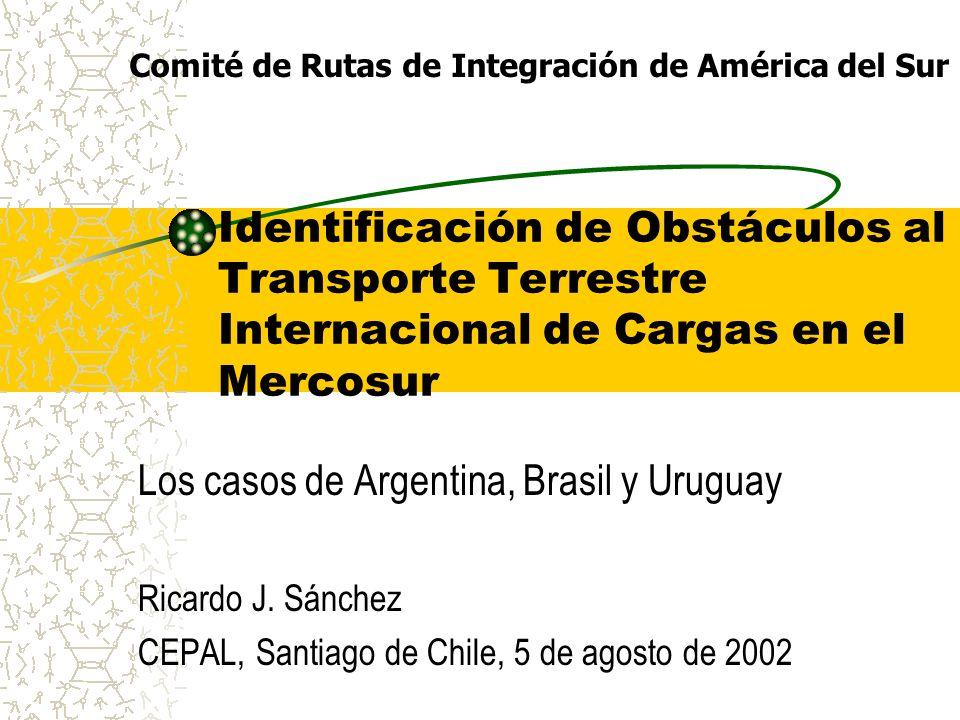 Los casos de Argentina, Brasil y Uruguay