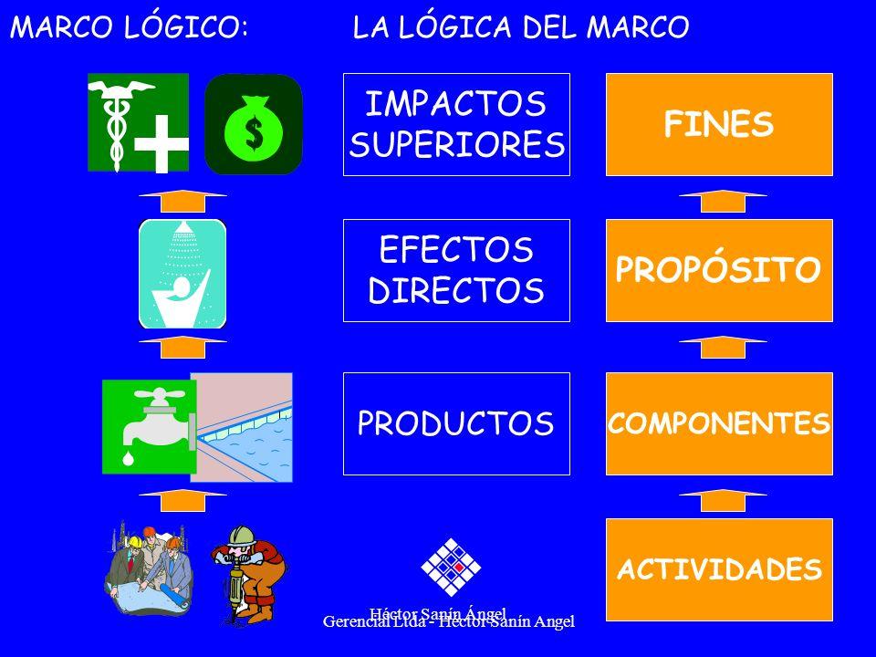 IMPACTOS FINES SUPERIORES EFECTOS PROPÓSITO DIRECTOS PRODUCTOS