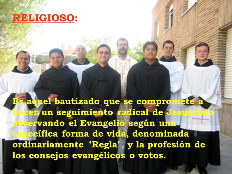 RELIGIOSO:
