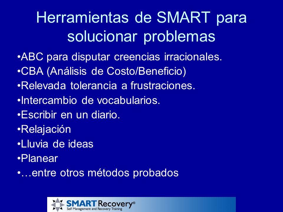 Herramientas de SMART para solucionar problemas