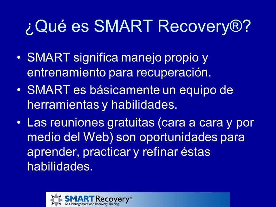 ¿Qué es SMART Recovery®