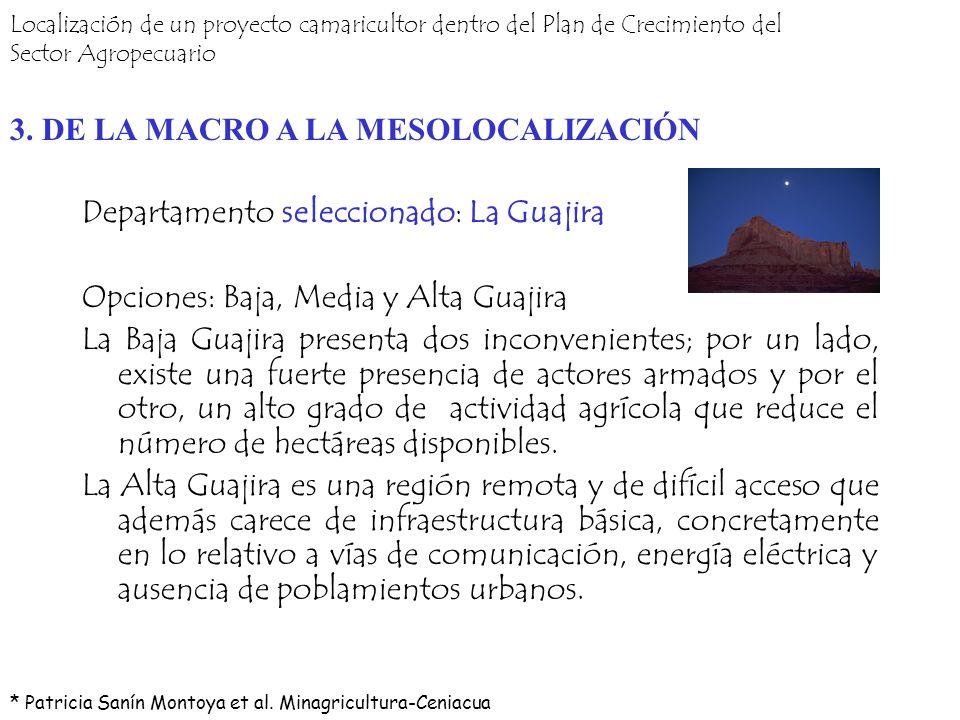 3. DE LA MACRO A LA MESOLOCALIZACIÓN