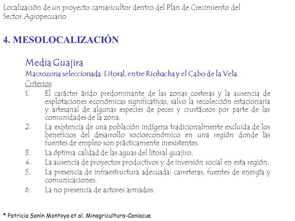 4. MESOLOCALIZACIÓN Media Guajira