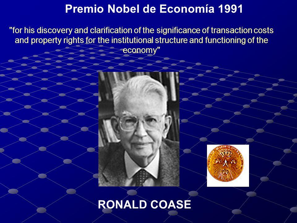 Premio Nobel de Economía 1991