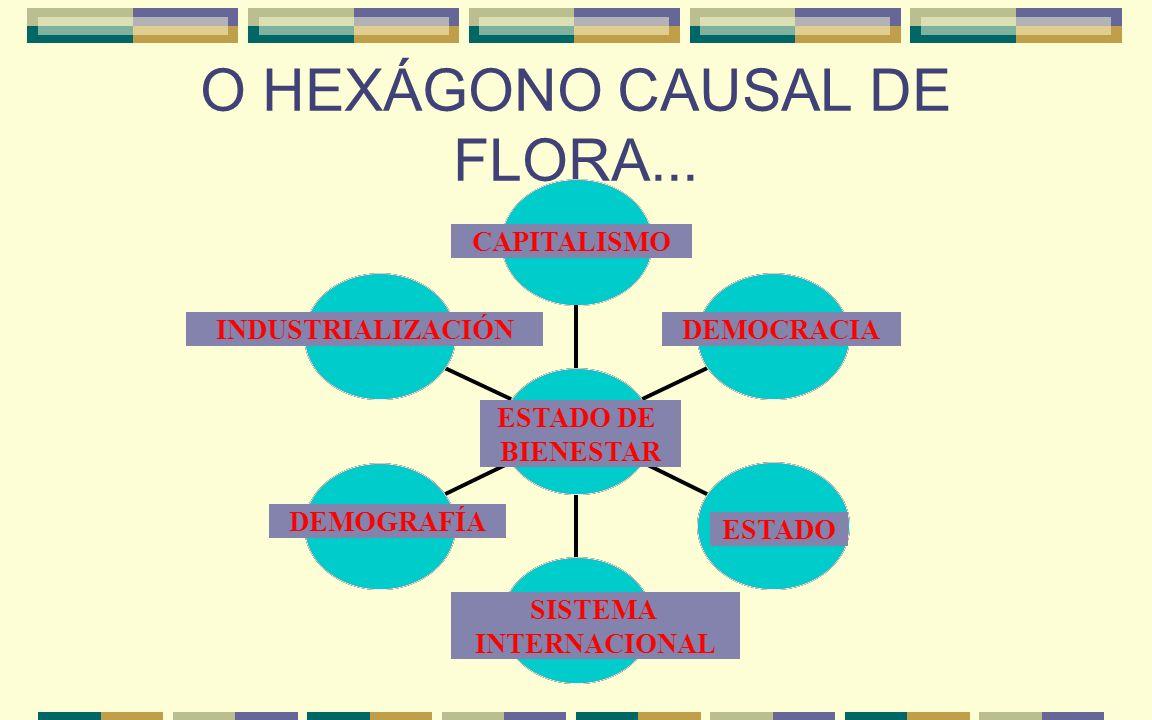 O HEXÁGONO CAUSAL DE FLORA...
