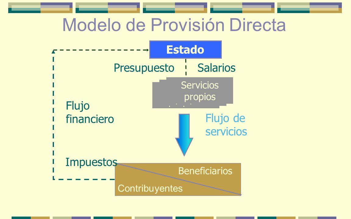 Modelo de Provisión Directa