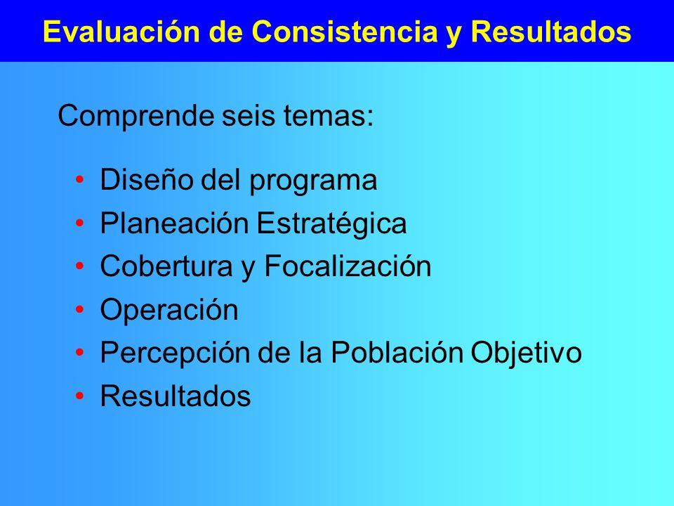 Evaluación de Consistencia y Resultados
