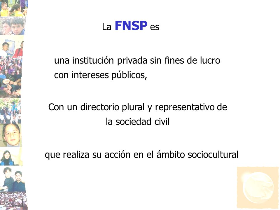 Con un directorio plural y representativo de la sociedad civil