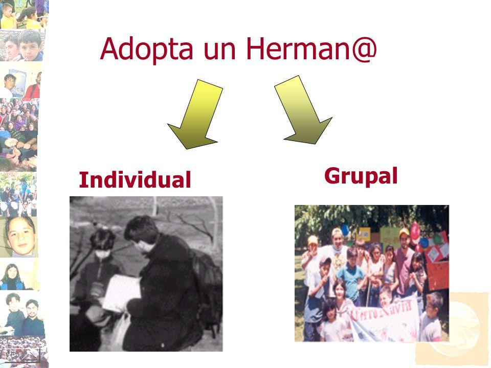 Adopta un Herman@ Grupal Individual