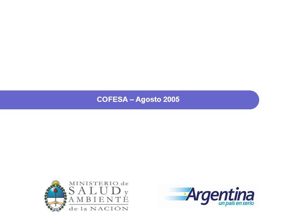 PROPUESTAS COFESA – Agosto 2005