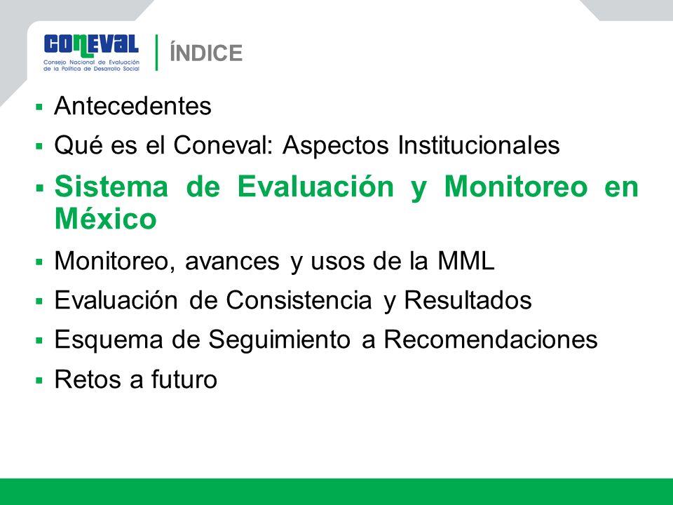 Sistema de Evaluación y Monitoreo en México