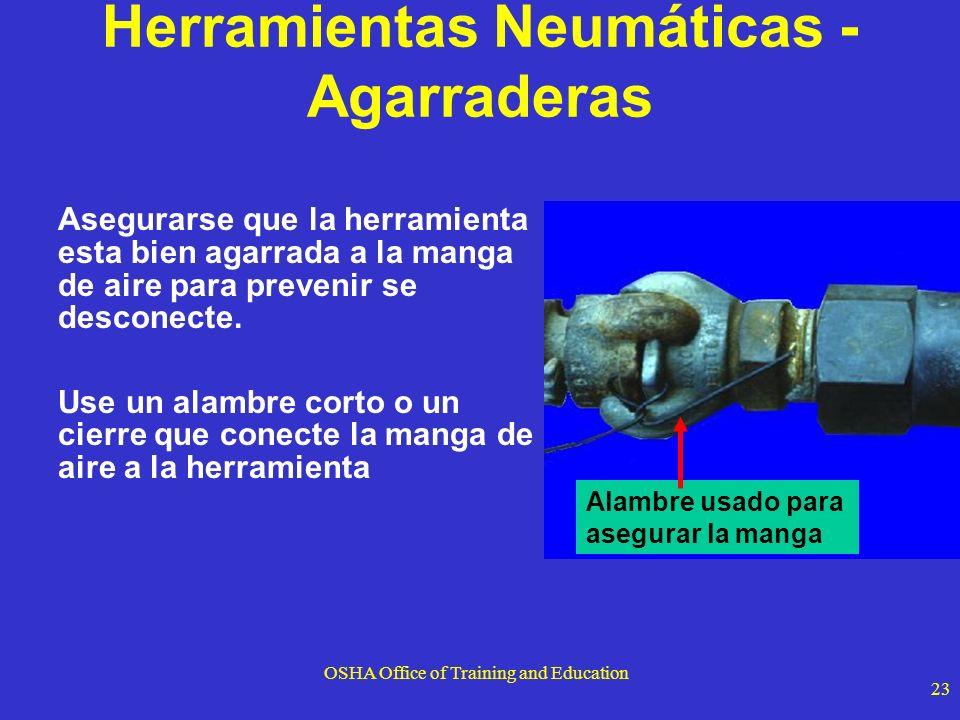 Herramientas Neumáticas - Agarraderas