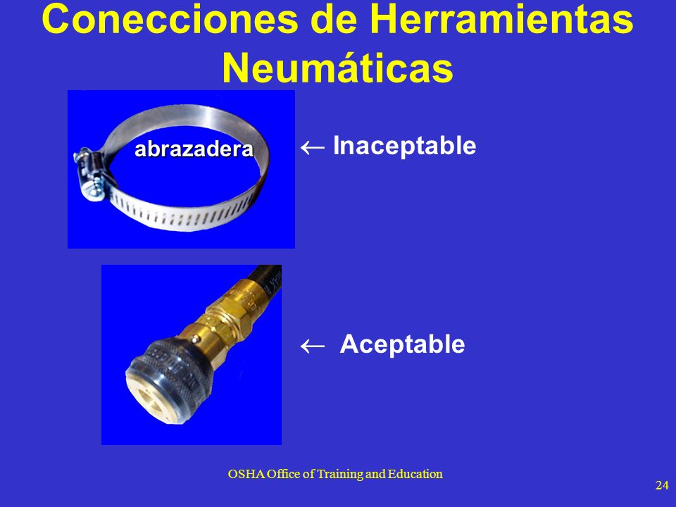 Conecciones de Herramientas Neumáticas