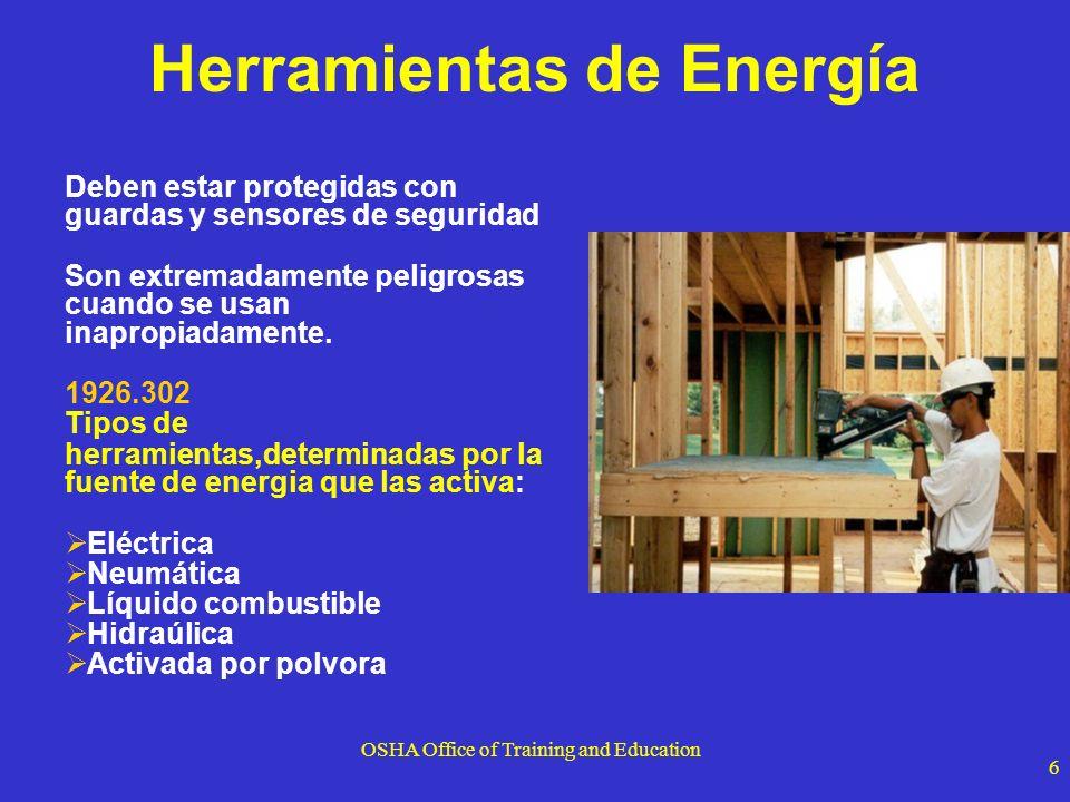 Herramientas de Energía