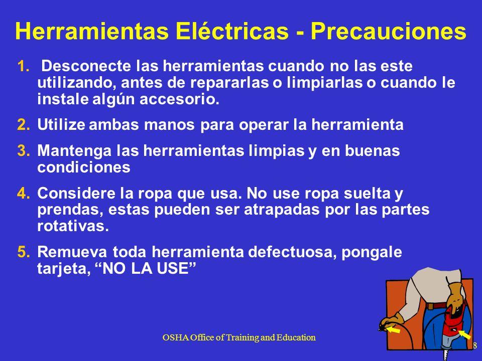 Herramientas Eléctricas - Precauciones