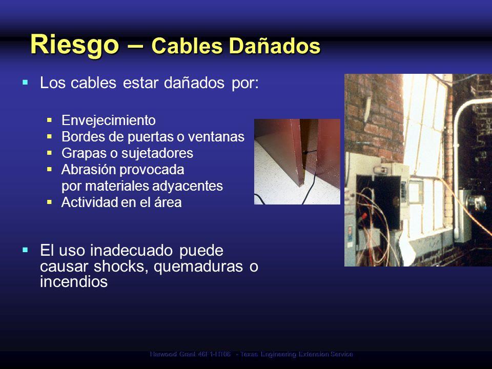 Riesgo – Cables Dañados