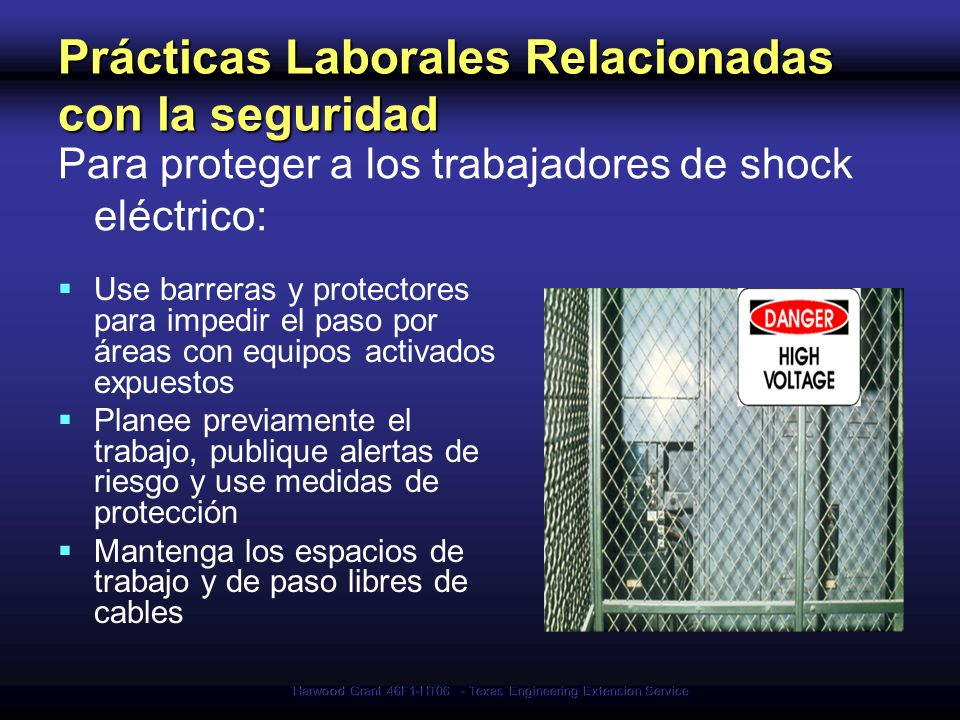 Prácticas Laborales Relacionadas con la seguridad