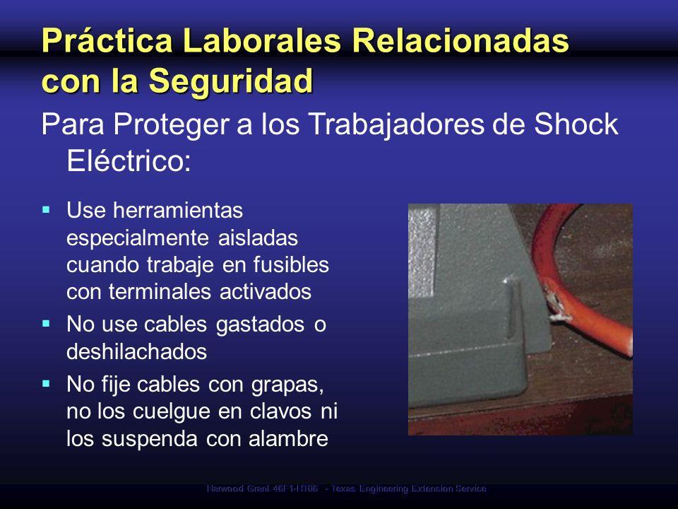 Práctica Laborales Relacionadas con la Seguridad