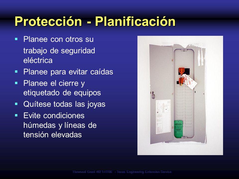Protección - Planificación