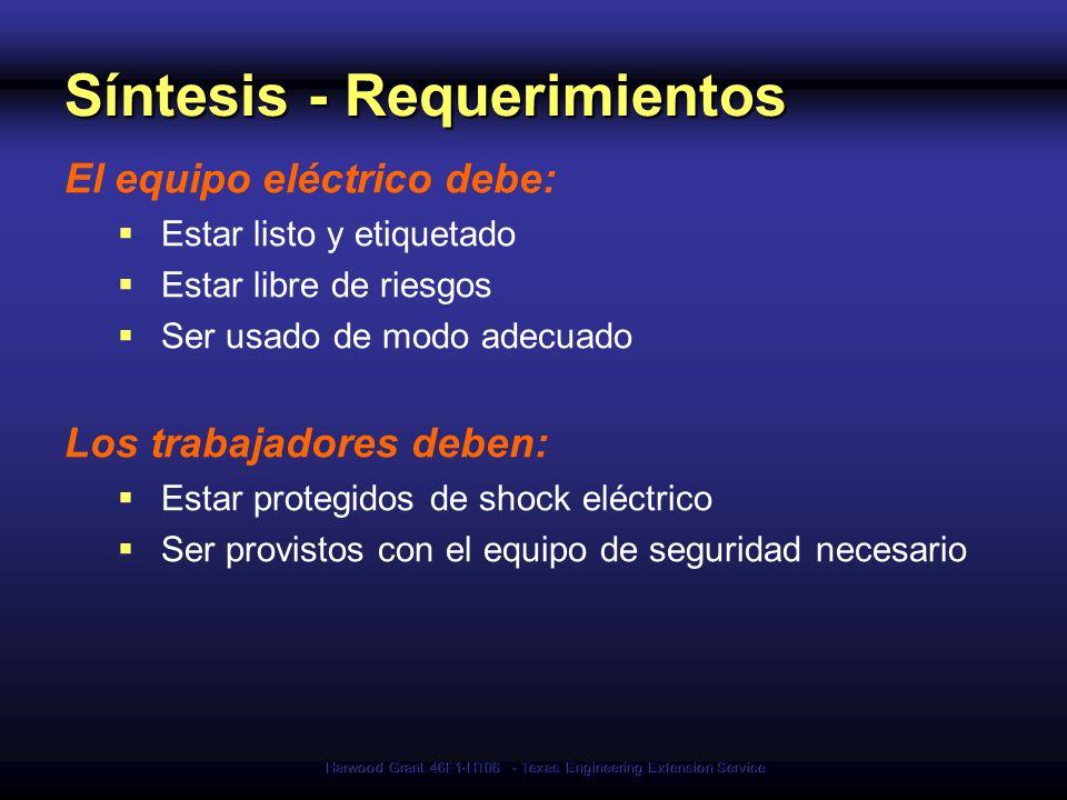 Síntesis - Requerimientos
