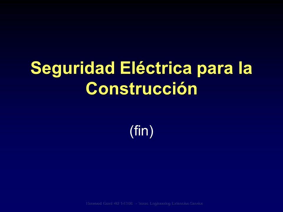 Seguridad Eléctrica para la Construcción