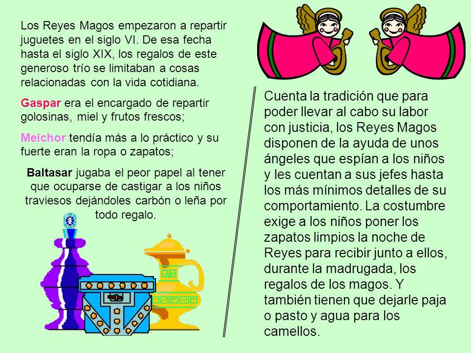 Los Reyes Magos empezaron a repartir juguetes en el siglo VI
