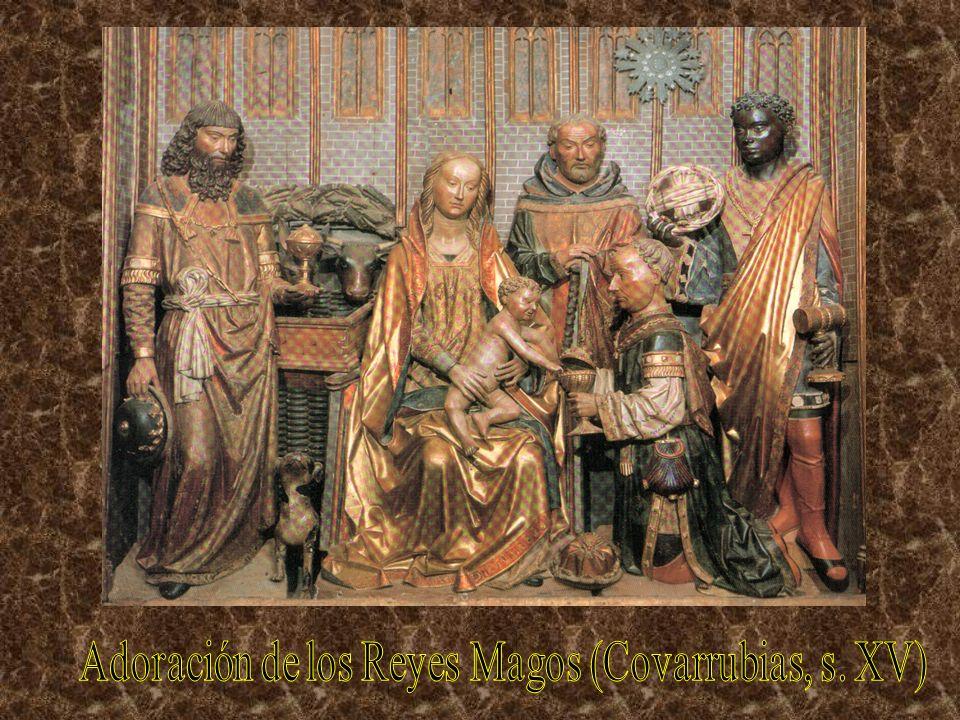 Adoración de los Reyes Magos (Covarrubias, s. XV)