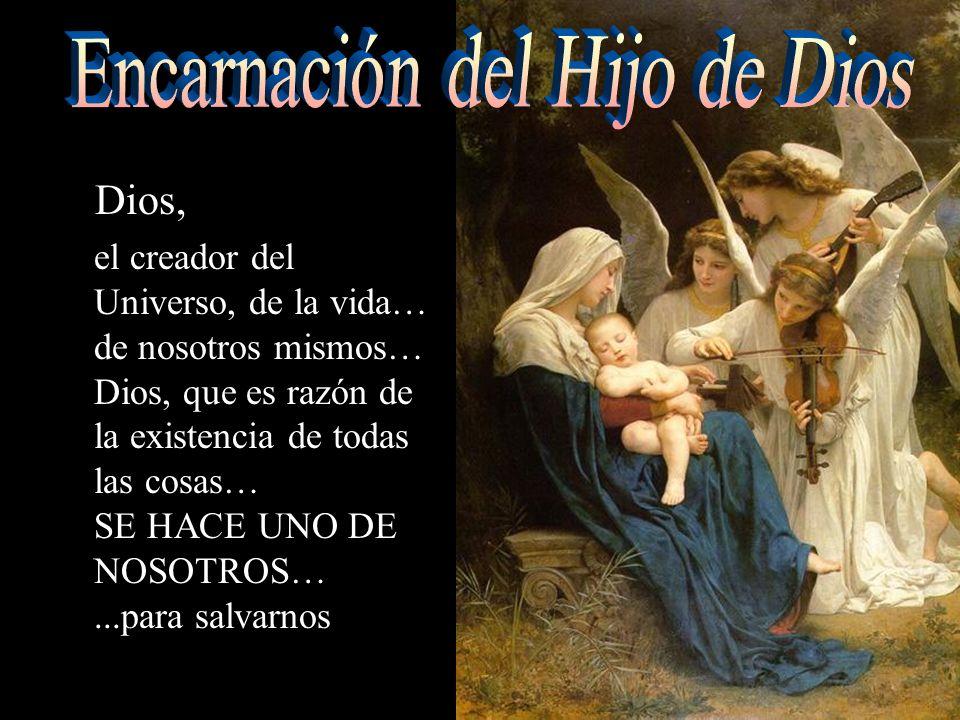 Encarnación del Hijo de Dios