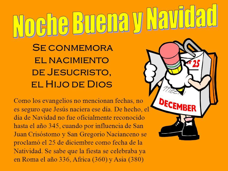 Se conmemora el nacimiento de Jesucristo, el Hijo de Dios