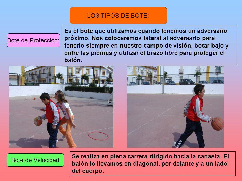 LOS TIPOS DE BOTE: