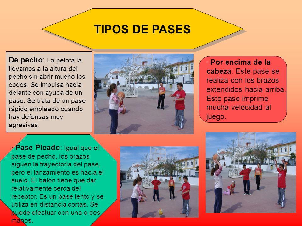 TIPOS DE PASES