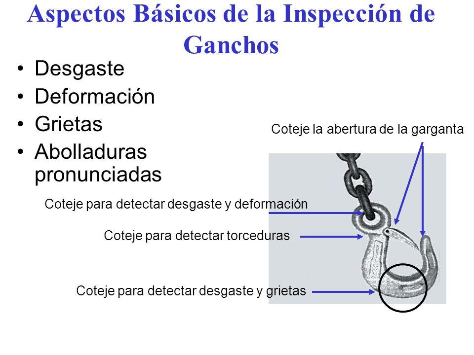 Aspectos Básicos de la Inspección de Ganchos