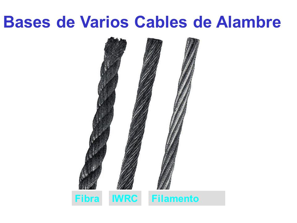 Bases de Varios Cables de Alambre