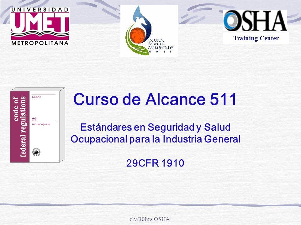 Estándares en Seguridad y Salud Ocupacional para la Industria General