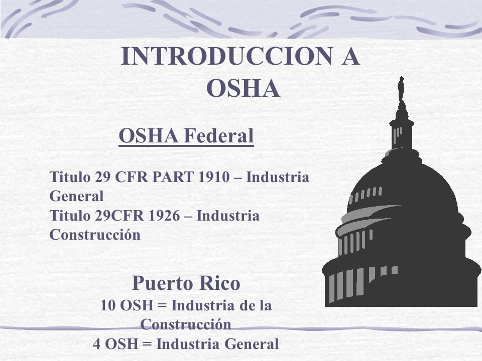 4 OSH = Industria General