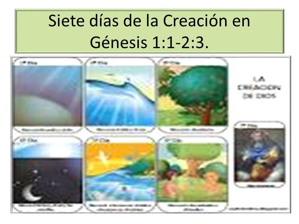 Los siete dias de la creacion de dios pictures to pin on for En 7 dias dios creo el mundo