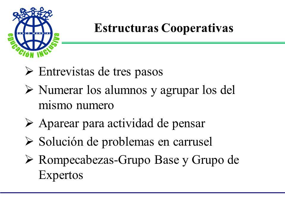 Estructuras Cooperativas
