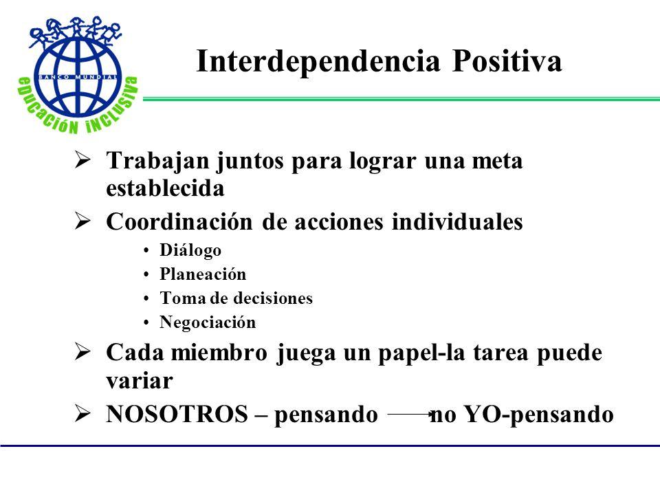 Interdependencia Positiva