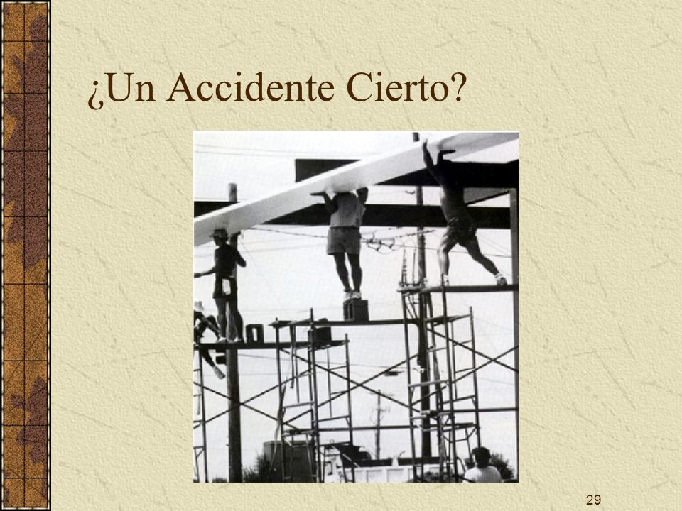 ¿Un Accidente Cierto