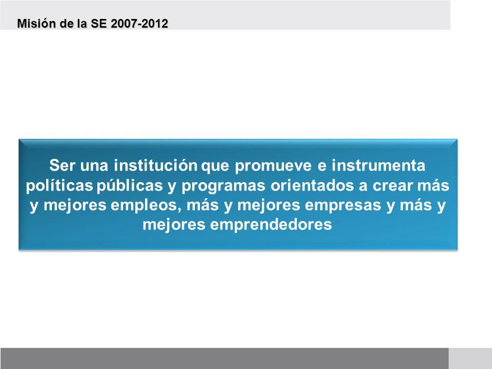 Misión de la SE 2007-2012