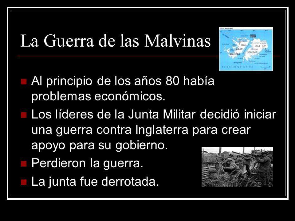 La Guerra de las Malvinas