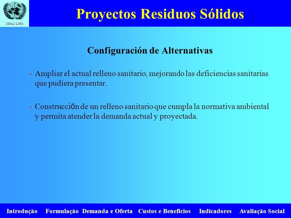 Proyectos Residuos Sólidos