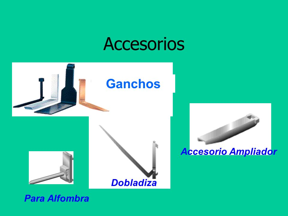 Accesorios Ganchos Accesorio Ampliador Dobladiza Para Alfombra