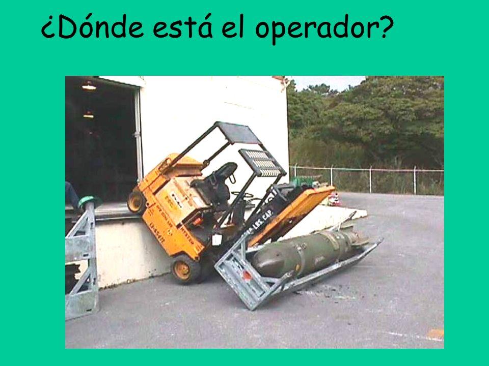 ¿Dónde está el operador
