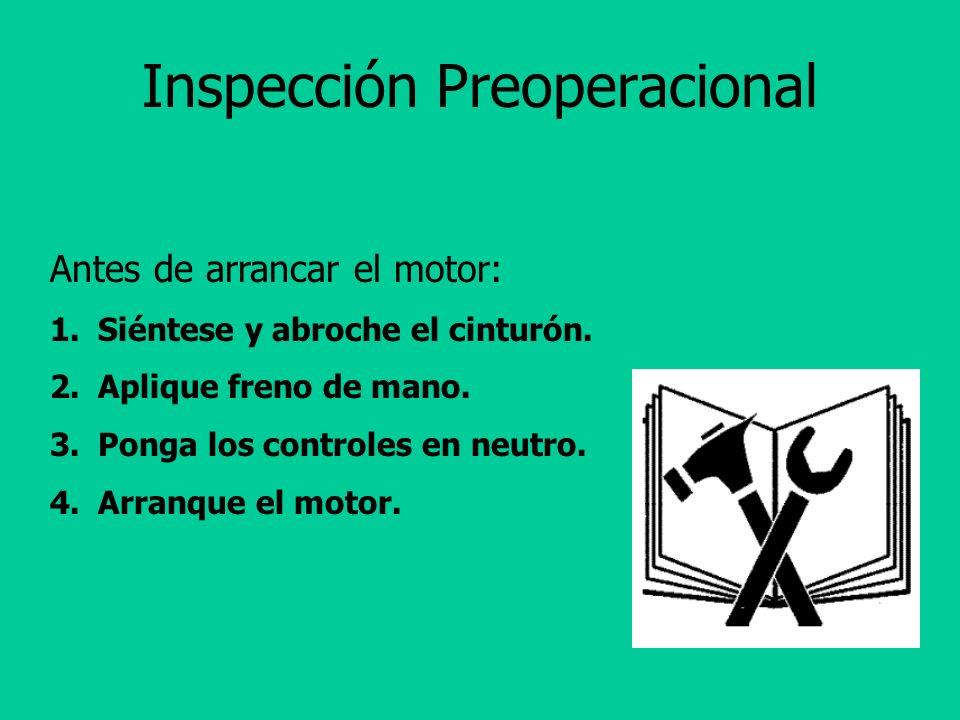 Inspección Preoperacional