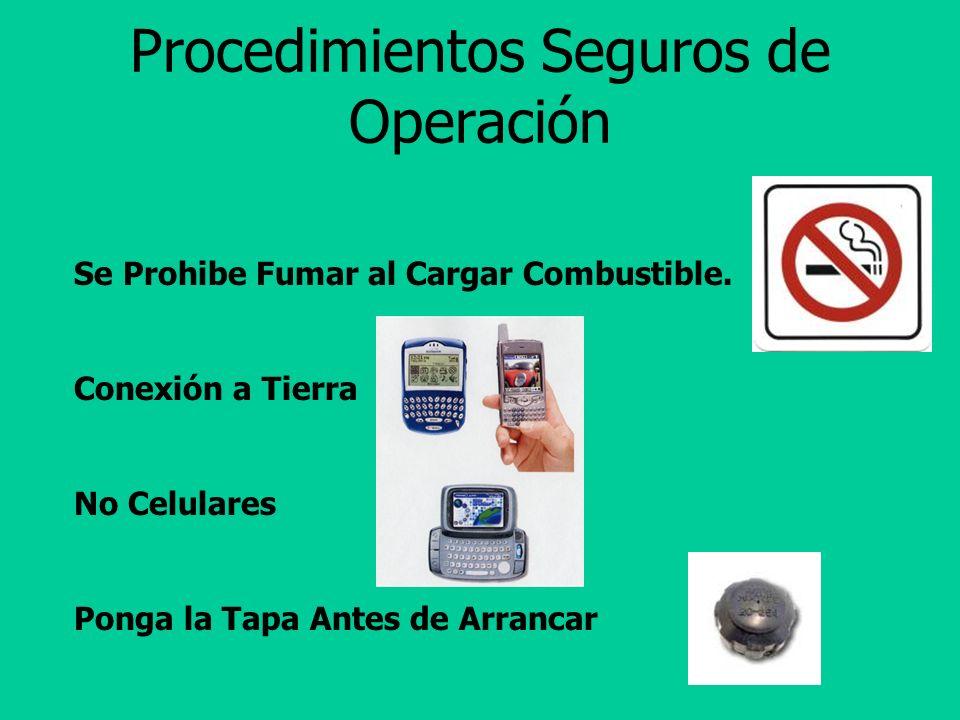 Procedimientos Seguros de Operación