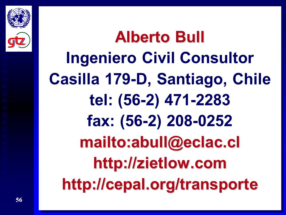 Ingeniero Civil Consultor Casilla 179-D, Santiago, Chile