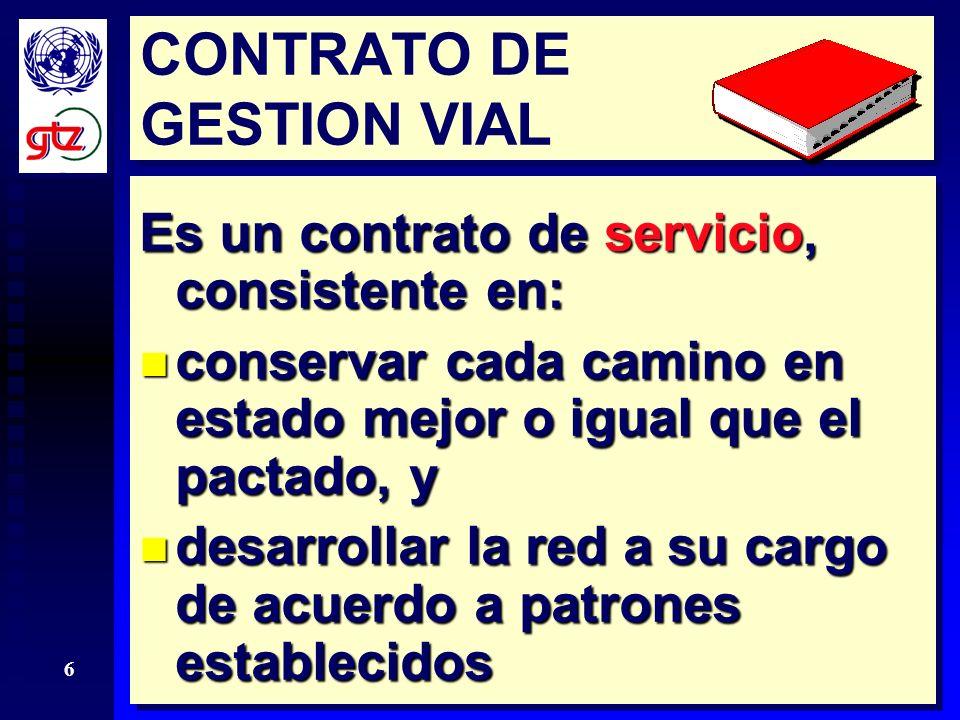 CONTRATO DE GESTION VIAL