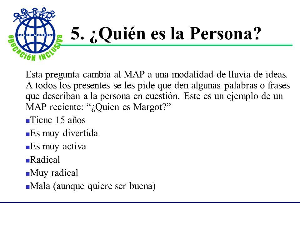 5. ¿Quién es la Persona